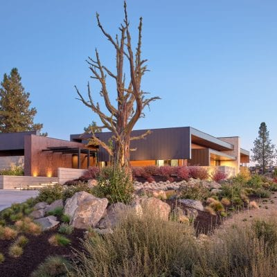 Tetherow home design and style in Bend, Oregon