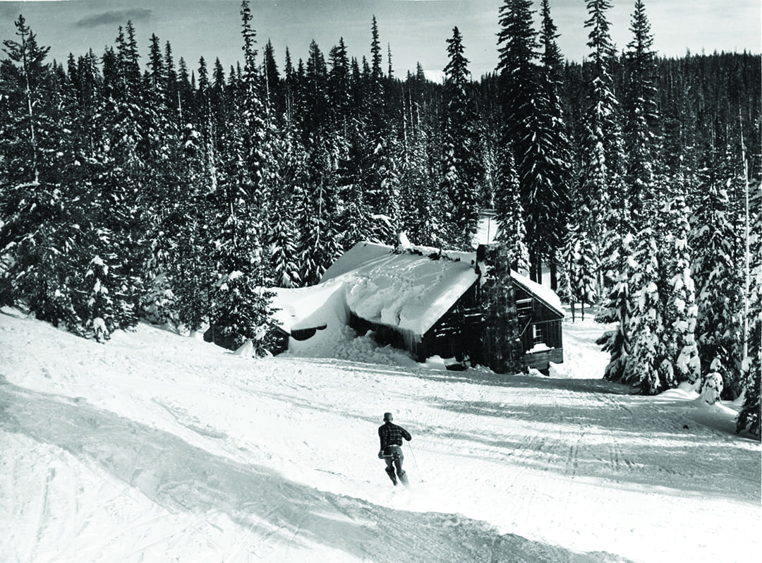 Historic Santiam Pass Ski Lodge