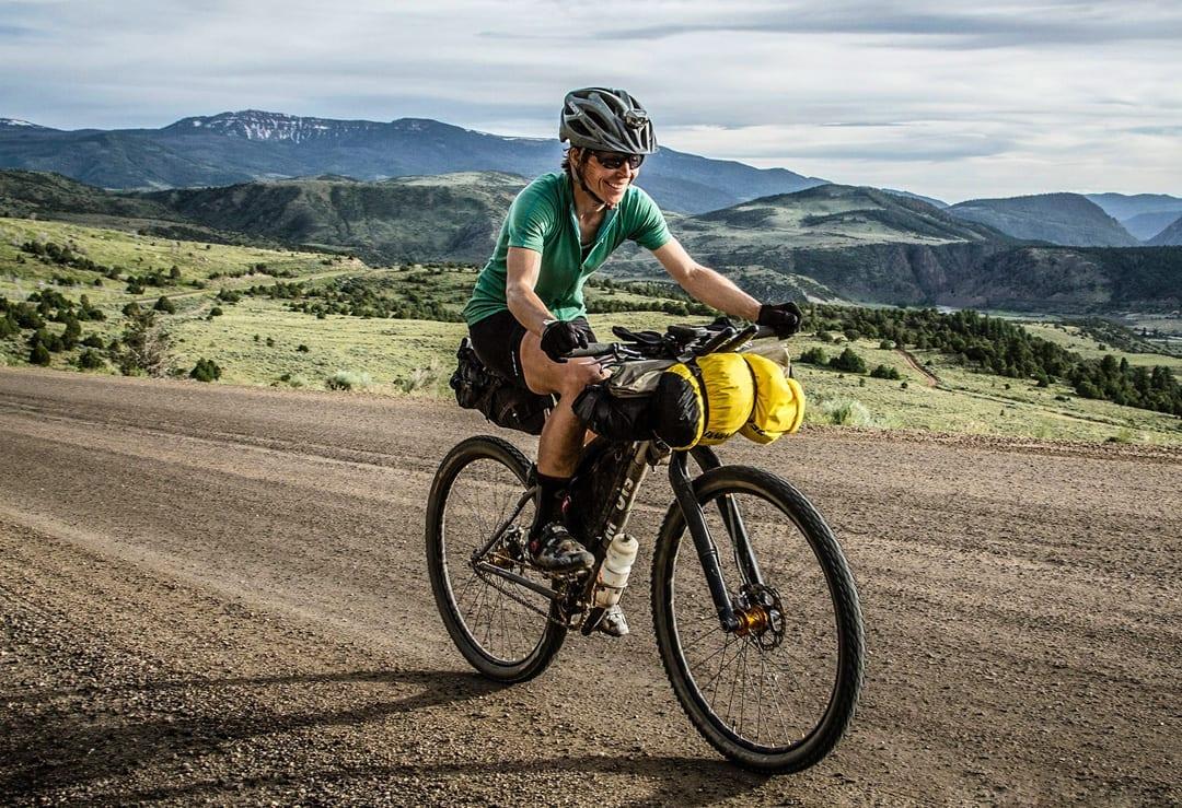 Endurance mountain biker Alice Drobna athlete in Bend, Oregon