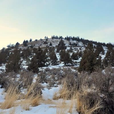 Winter Hiking in Central Oregon