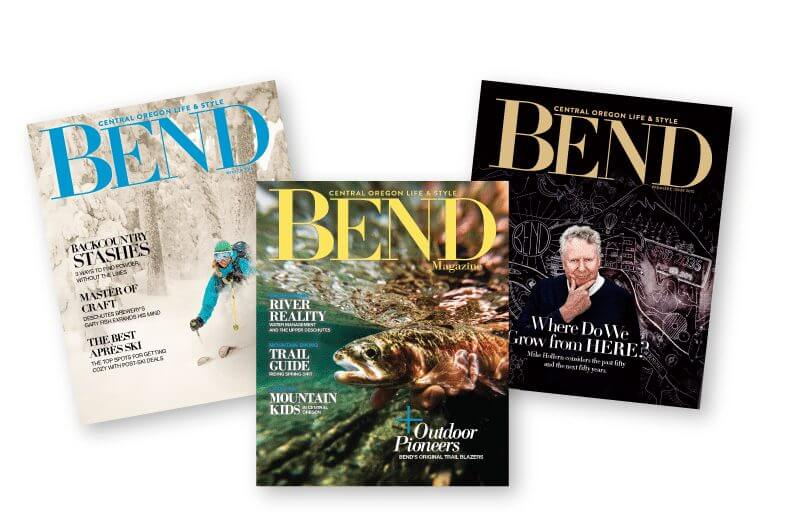 Bend Magazine Covers