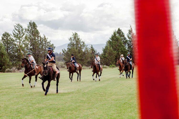 Sisters Cascade Polo Club, photo by Talia Galvin