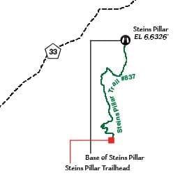 Steins Pillar Map