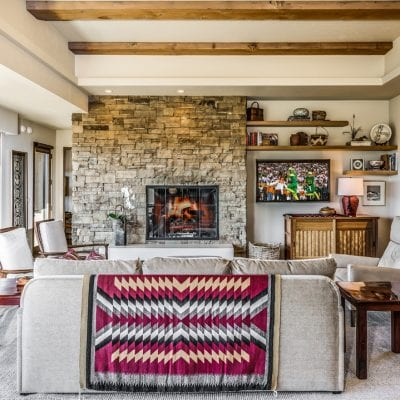 Southwest Style Meets the Pacific Northwest In This Custom Home