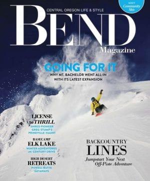 Bend Magazine Cover Winter 2017