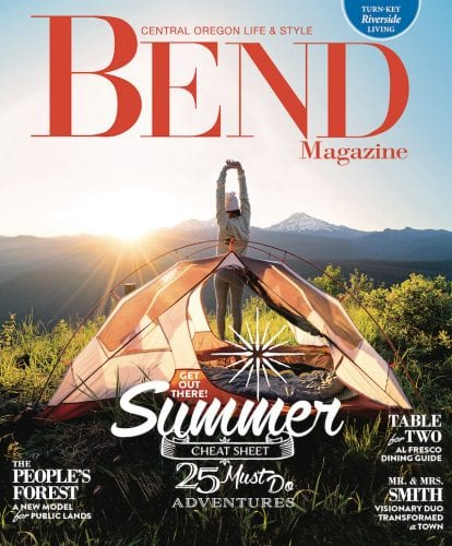 Bend Magazine Summer 2017 Cover