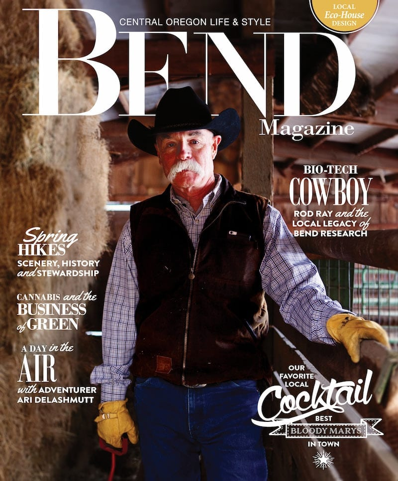 Bend Magazine Spring 2017 Cover