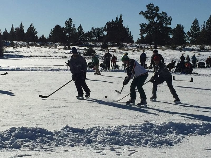 hockey - pont - central - oregon
