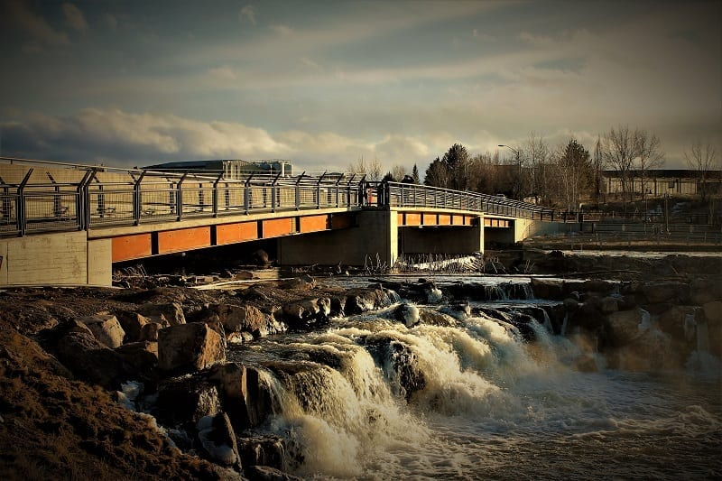 Colorado Street Bridge - Deschutes River - Whitewater Park - by Danielle Meyers