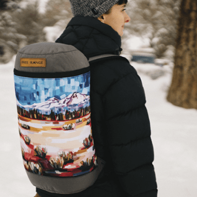 Free Range Equipment Partners with Local Arists for New Line of Backpacks
