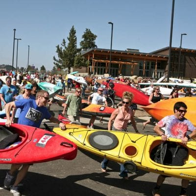 Bend's Iconic Multi-Sport Event Pole Pedal Paddle is About More Than Competition