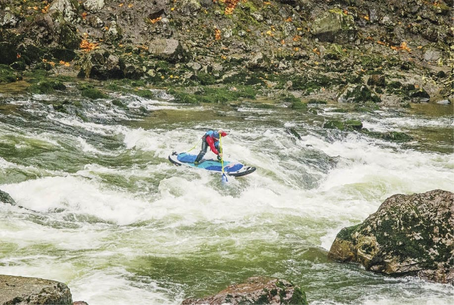 Paul Clark-SUP-Stand up paddleboarding - Central Oregon - Bend Magazine - Deschutes River - John Day River