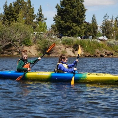 Family Adventures on the Water in Bend