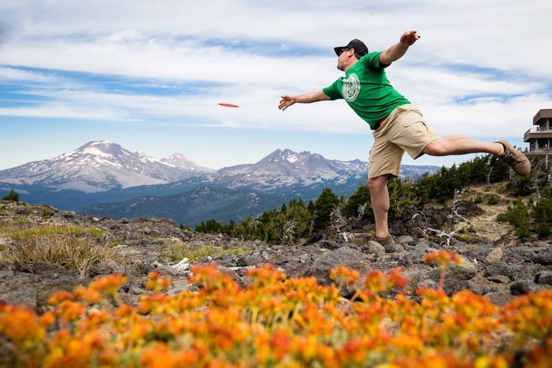 Disc golf course opens in the summer at Mt. Bachelor.