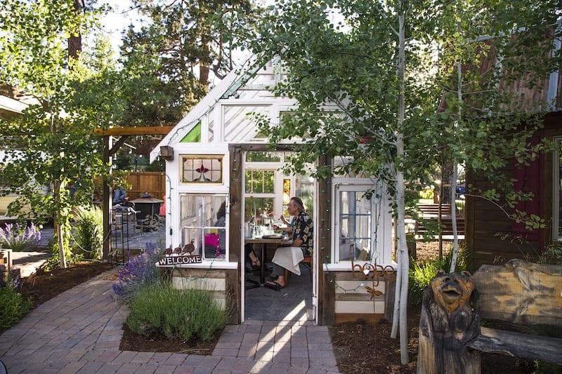 The Open Door in Sisters, Oregon one of the best Central Oregon outdoor restaurants