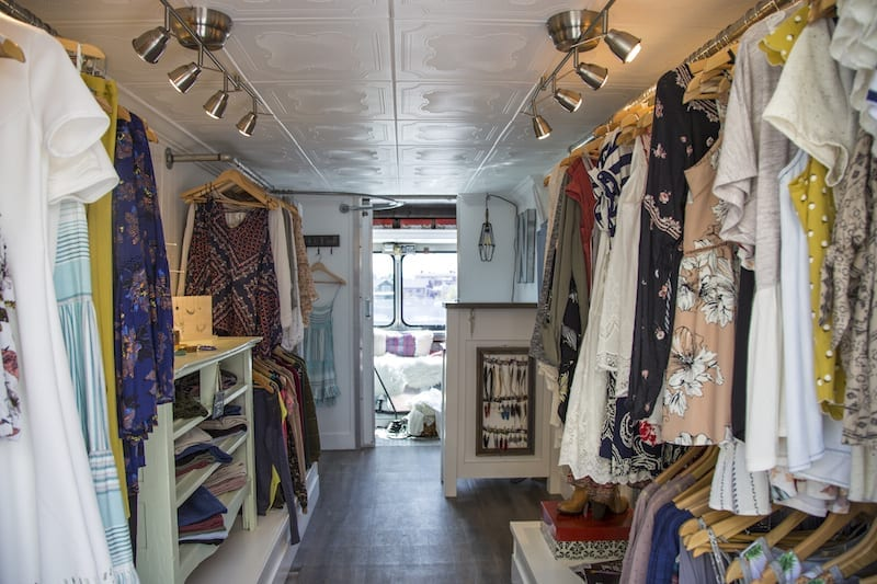 Bend's first fashion truck Wildflower Mobile Boutique