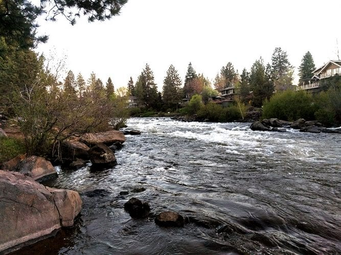First Street Rapids Deschutes River