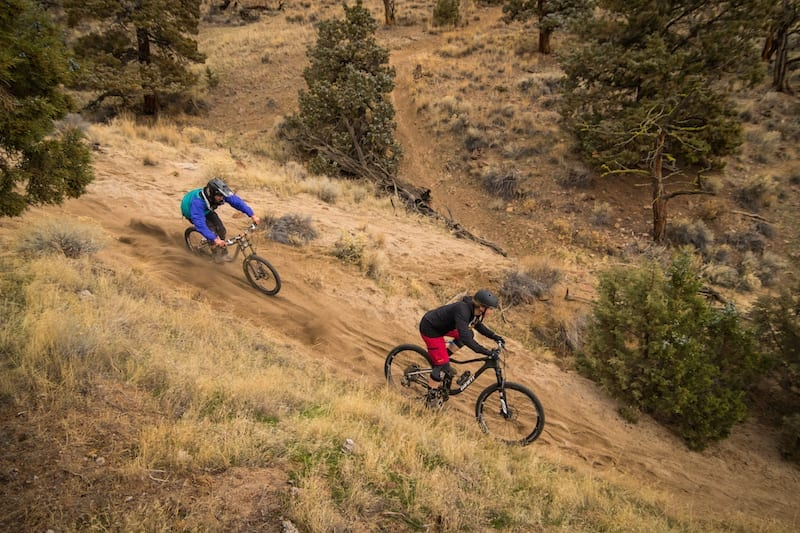 Easy mountain biking trails in Bend, Oregon.