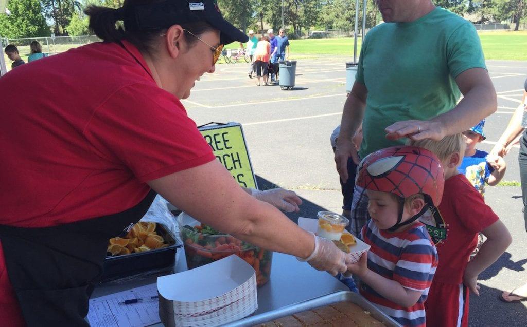 Free Summer Meals Program Bend La Pine Redmond