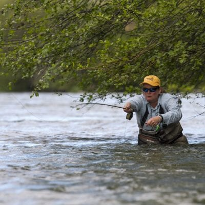 A Day on the Deschutes with Fly-Fishing Angler Amy Hazel