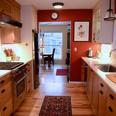 An Old Bend Kitchen Remodel Saves Space