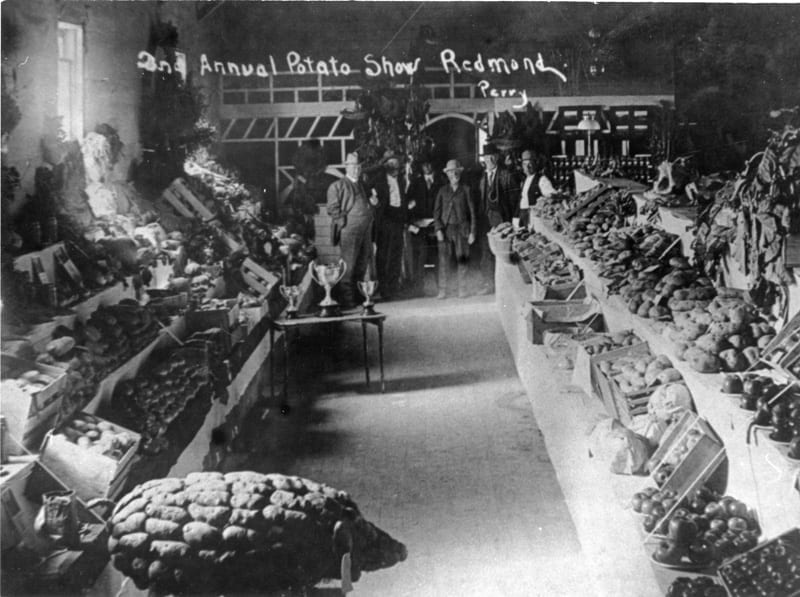Second annual Remond Potato Show in 1912.