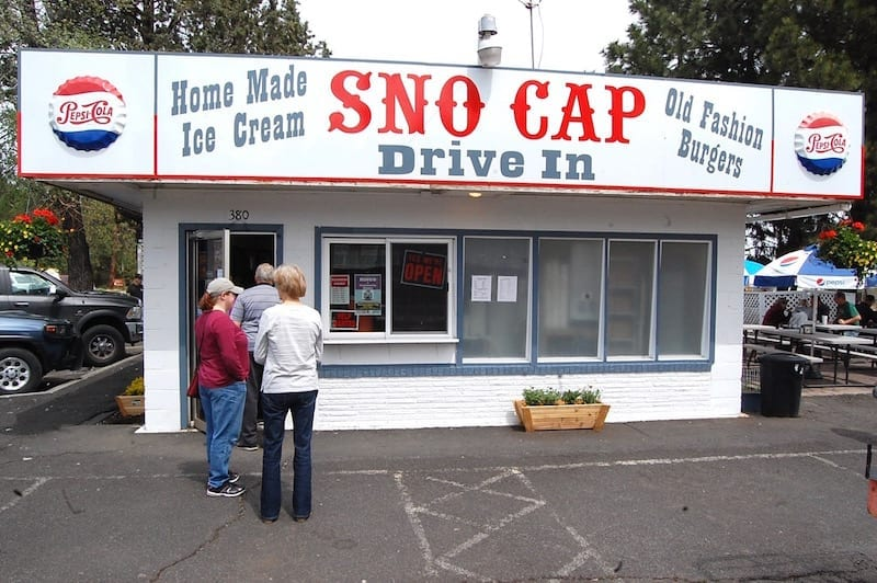 Sno Cap Drive-In in Sisters, Oregon