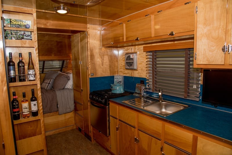 Inside The Neutron A Vintage Inspired Camping Trailer From Flyte Camp