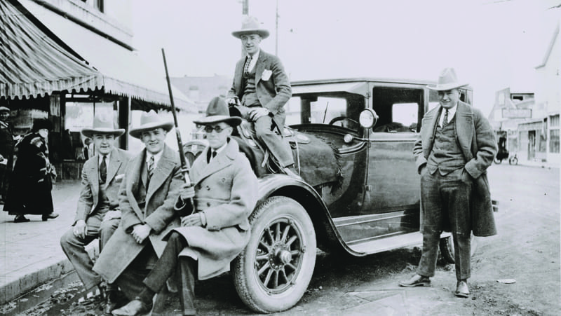 Crook County sheriff & deputies 1921