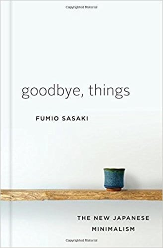 Goodbye Things Book Cover