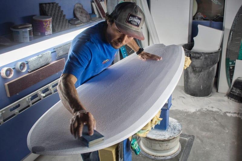 Travis Yamada Surfboard Shaping