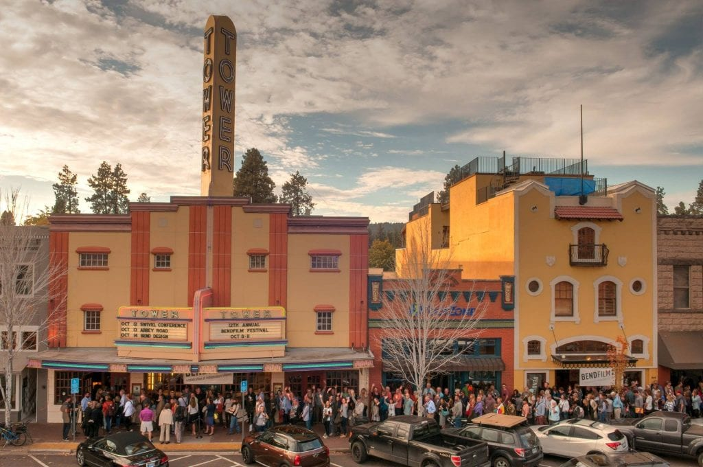BendFilm Festival at the Tower Theatre in downtown Bend.