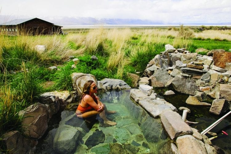 The Healing Waters of Summer Lake Hot Springs