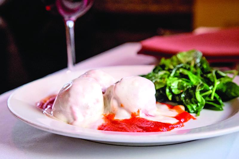 Trattoria Sbandati meatballs itallian restaurant bend oregon