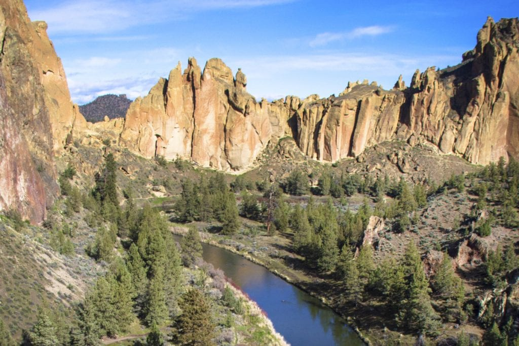 Run the Rock at Smith Rock, bend running event