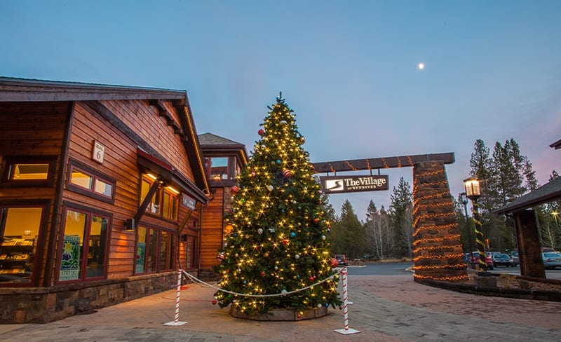 Sunriver Village Christmas Tree