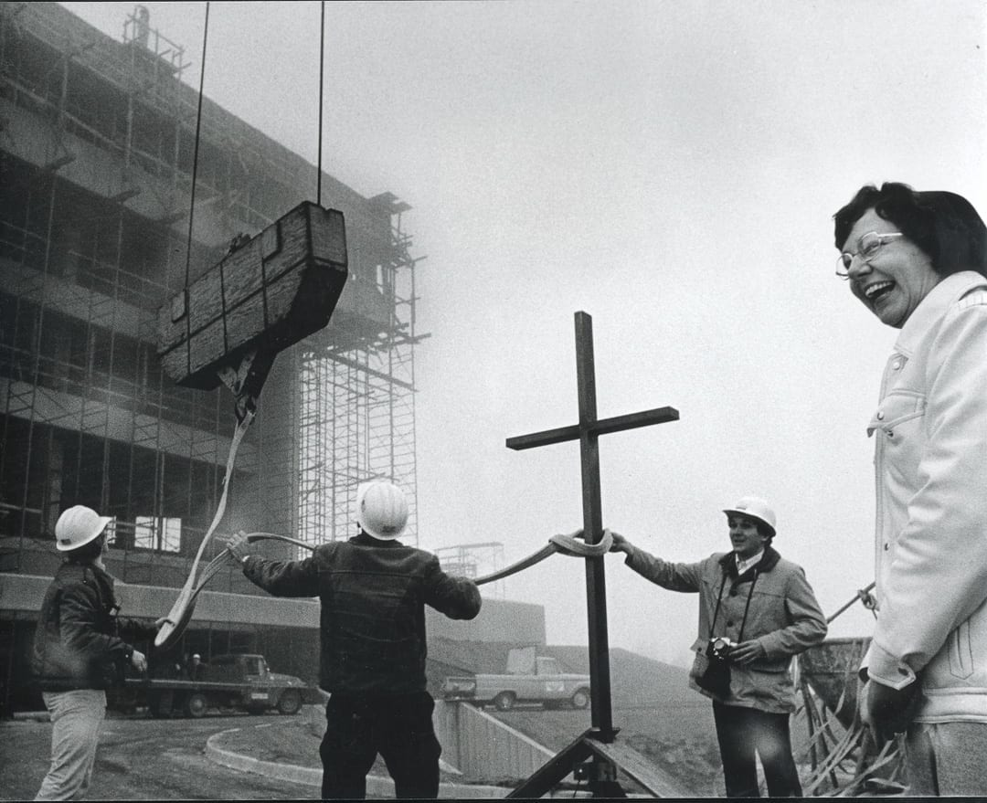 Sister Catherine Hellmann and the construction of St. Charles hospital in Bend, Oregon