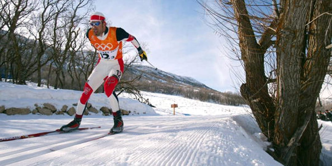 Olympic skier Justin Wadsworth from Bend, Oregon