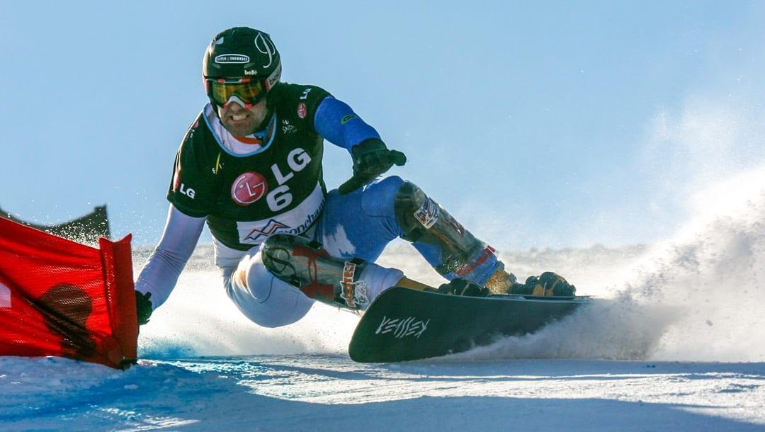 Olympic snowboarder Chris Krug from Bend, Oregon