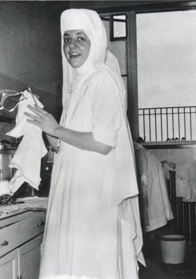 Sister Catherine Hellmann and St. Charles hospital in Bend, Oregon
