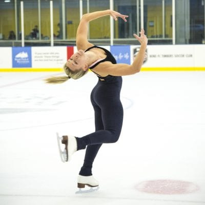 Rebecca King Sees A Bright Future For Figure Skating in Bend