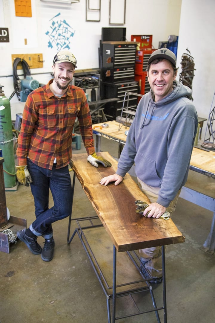 Andrew Wachs and Dylan Woock with Weld Design Studio in Bend, Oregon