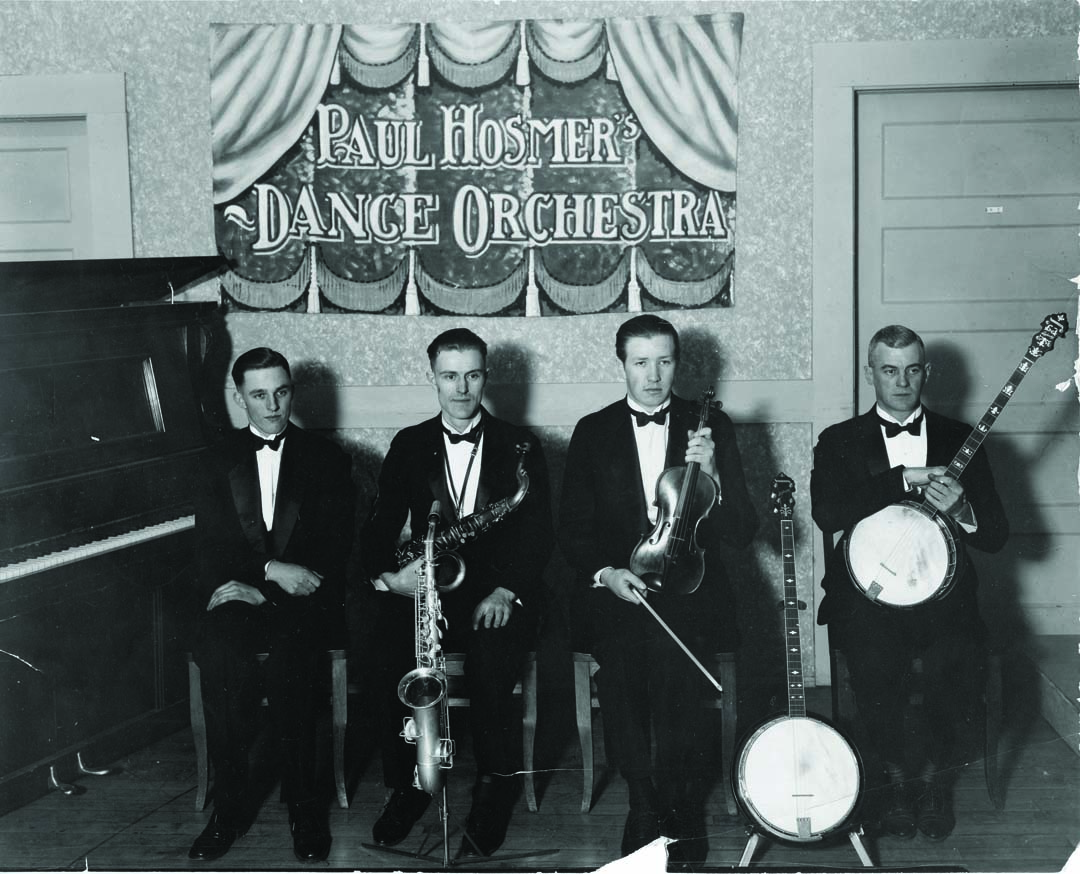 Bend icon Paul Hosmer and his 1920s orchestra