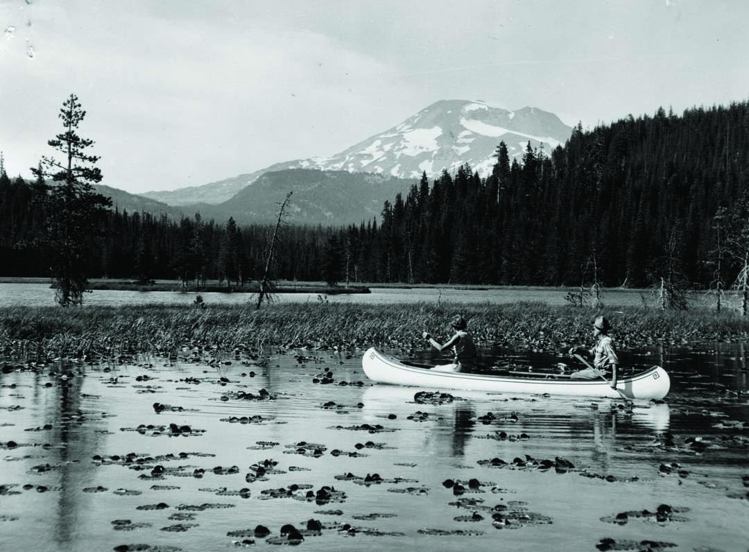 Paul Hosmer the namesake of Hosmer Lake near Bend, Oregon