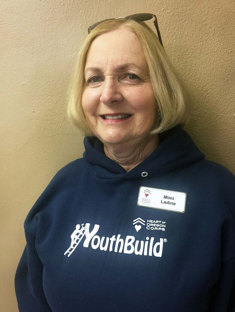 Heart of Oregon Corps volunteer Mimi Ladine in Bend, Oregon