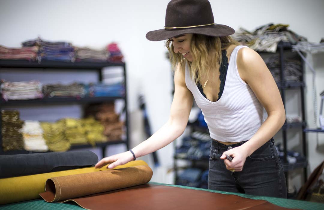 J Paige & CO custom leather bag maker in Bend, Oregon