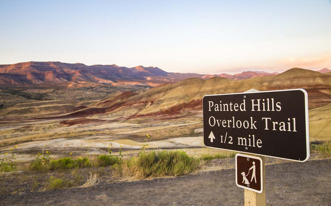 Painted Hills State Park for spring break cheat sheet in Eastern Oregon