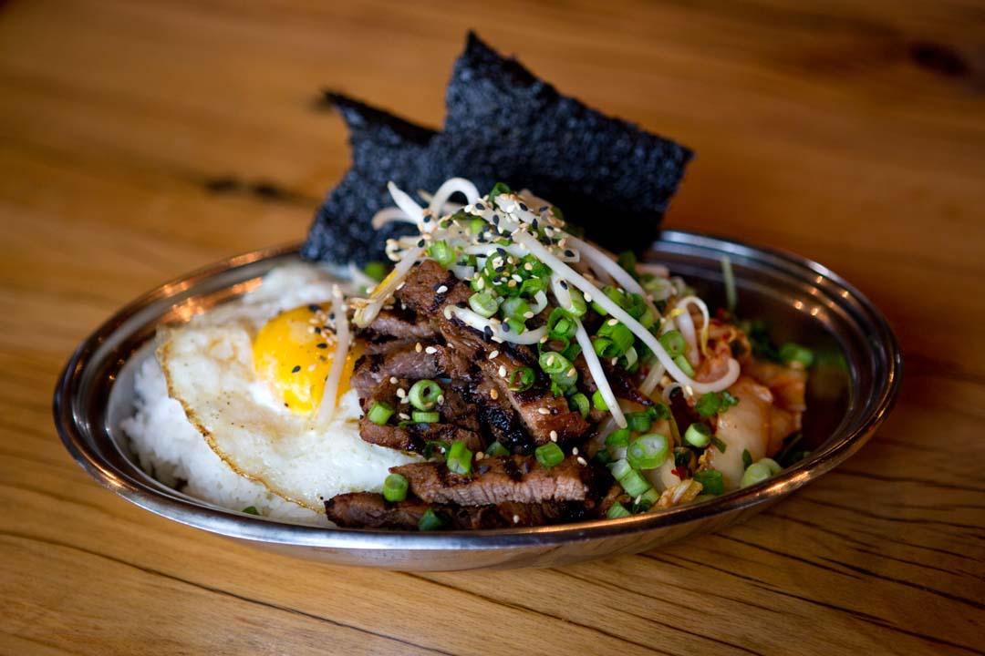 Spork's Korean BBQ Short Rib in Bend, Oregon