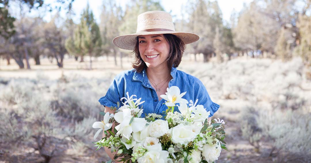 Summer Robbins Flower business in Bend, Oregon