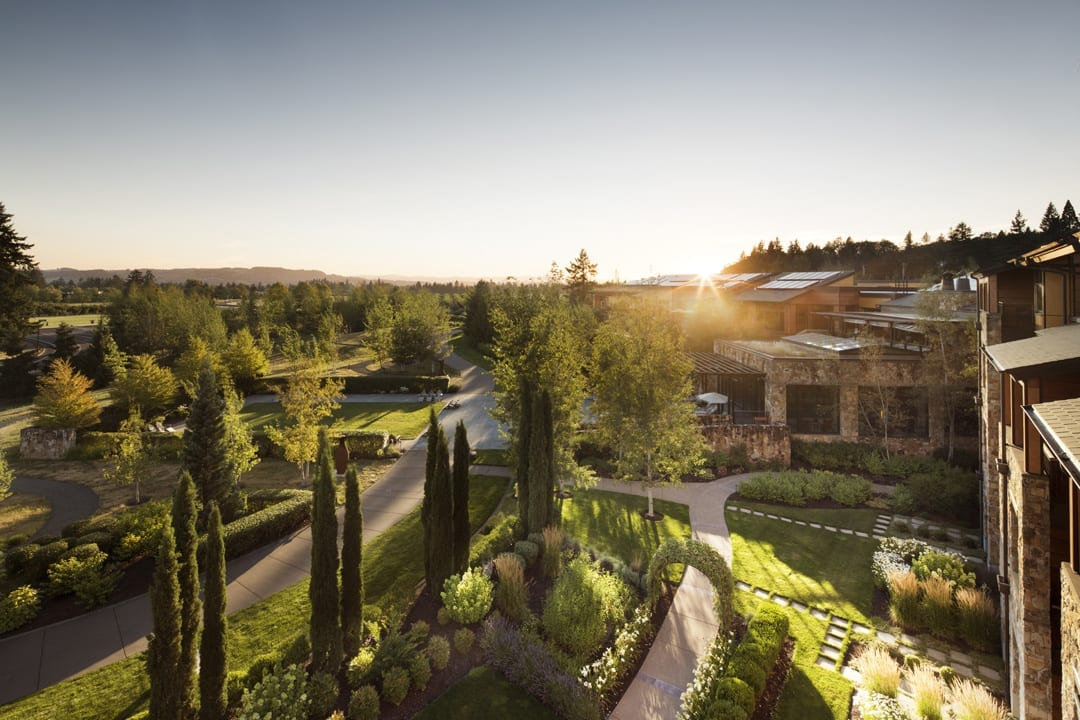 Allison inn and spa in willamette valley wine region
